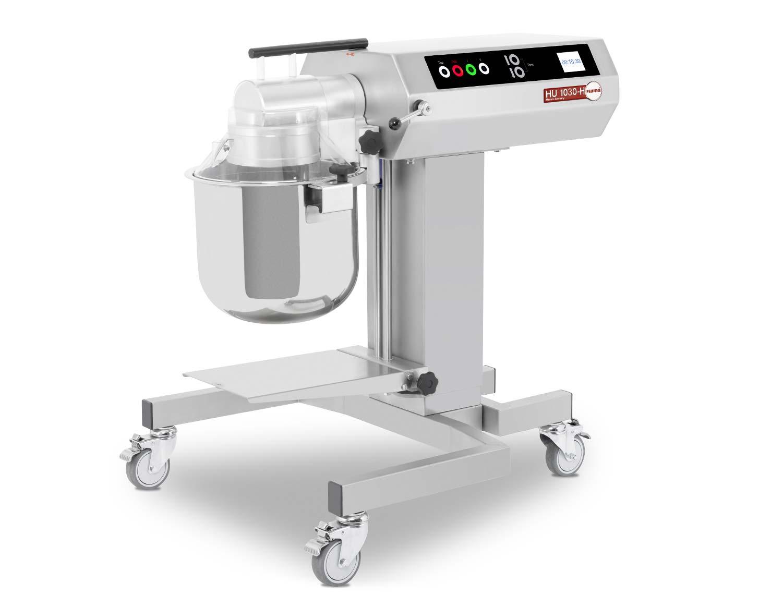 Höhenverstellbares Untergestell, Touch-LCD-Display, Werkzeugerkennung - Feuma HU1030-H Multifunktions-Küchenmaschine für die Profiküche mit 20 Liter Rührwerk