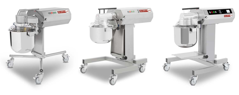 Feuma Mehrzweckküchenmaschinen HU 1020-2, HU 1020-2H und HU1030-H im Vergleich