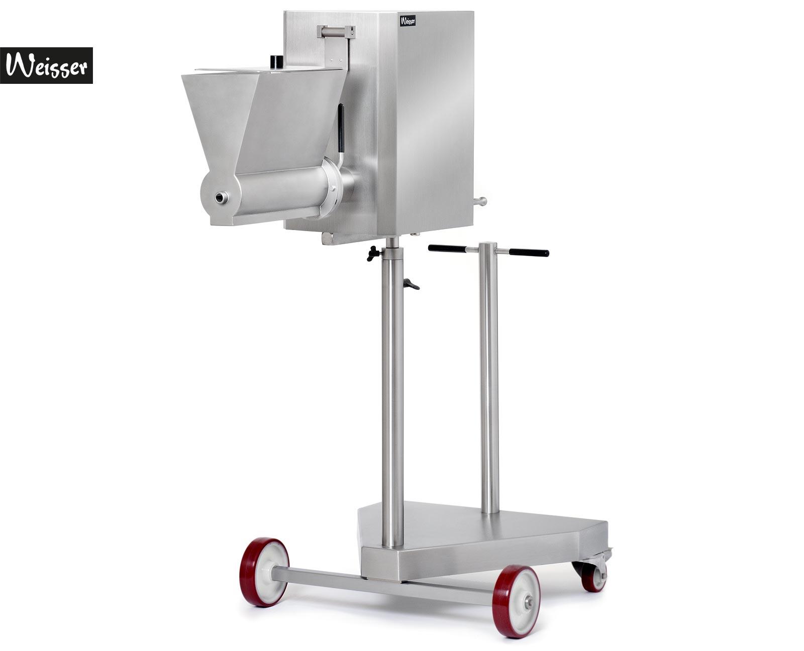 Weisser SK50-2 elektrische Spätzlemaschine und Knöpflemaschine fahrbar