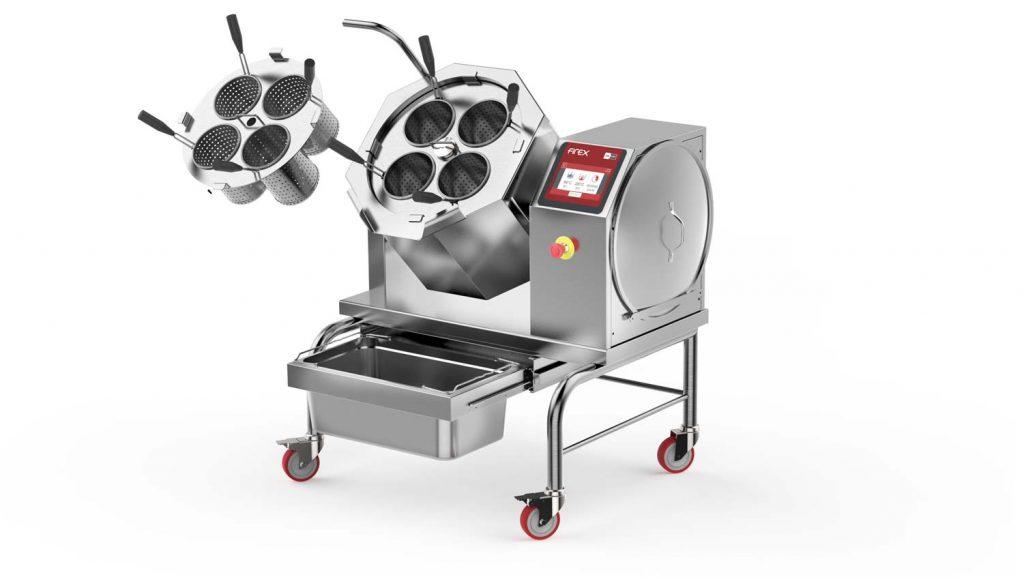 Firex Cucimix CBTE030 mit 30 Litern wird mit Zubehör zum Pastakocher / Nudelkocher