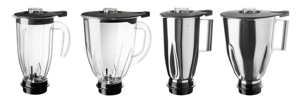 Mixbecher für GK950, GK900, GK600 erhältlich in 2 & 4 Liter Polycarbonat und 2 & 4 Liter Edelstahl