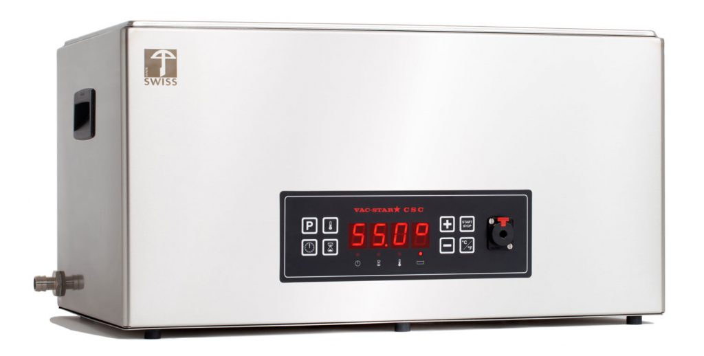 Vac-Star CSC-20 CT mit Temperatursonde und Programmsteuerung